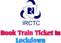 Train Booking in Lockdown